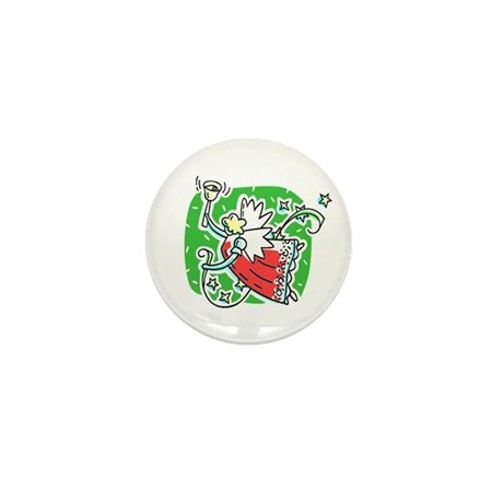 Whymsical Angel Mini Button (100 pack)