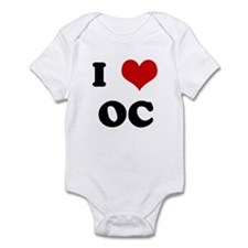 I Love OC Infant Bodysuit