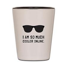Cooler Online Shot Glass