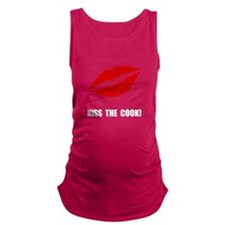 Kiss The Cook Maternity Tank Top