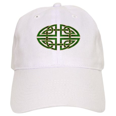 Celtic Knotwork (green) Cap