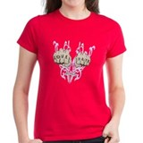 Love and Hate Fists Tee