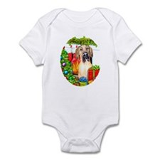Great Dane Stockings Fawn UC Infant Bodysuit