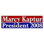 Marcy Kaptur President (bumper sticker)