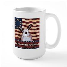 Rabbit Pwesident Schmoe Mug
