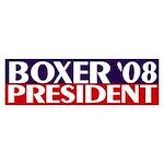 Boxer President 2008 (bumper sticker)