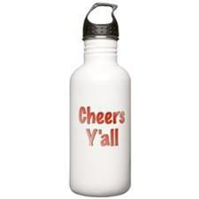 Cheers Y'all Water Bottle