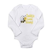 Cute Daddy to bee Long Sleeve Infant Bodysuit