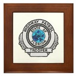 Florida Highway Patrol Framed Tile