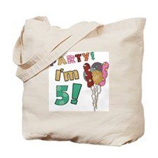 Cute Birthday boy 5th Tote Bag
