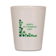 Happy St Patrick's Day Shot Glass