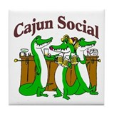 Cajun Tile Coaster
