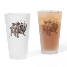 Funny Crab Drinking Glass