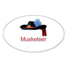 Musketeer Oval Decal