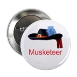 "Musketeer 2.25"" Button (10 pack)"