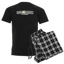 Proud Veteran - Army Men's Dark Pajamas