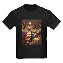 Dobie on the Path Kids Dark T-Shirt