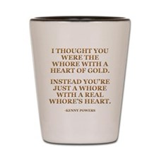 Heart of Gold Shot Glass