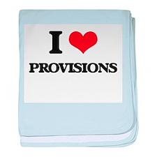 I Love Provisions baby blanket