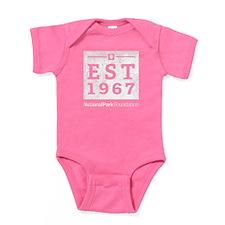Npf Est.1967 Washed Baby Bodysuit