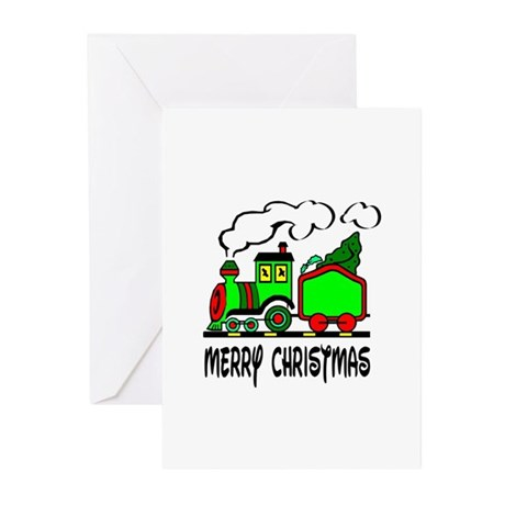 Christmas Train Greeting Cards (Pk of 10)