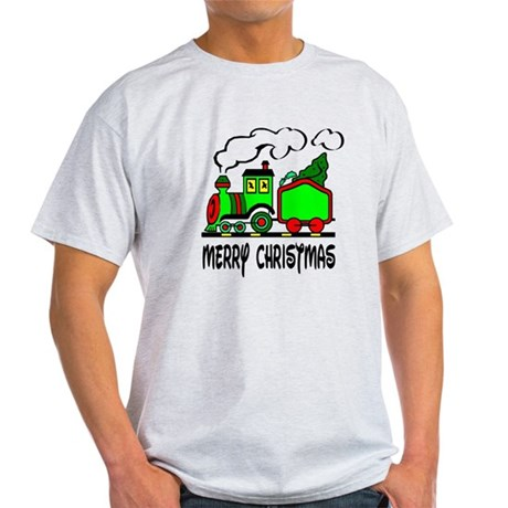 Christmas Train Light T-Shirt