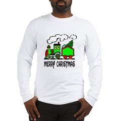Christmas Train Long Sleeve T-Shirt