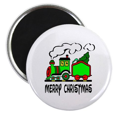 "Christmas Train 2.25"" Magnet (10 pack)"