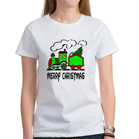 Christmas Train Women's T-Shirt
