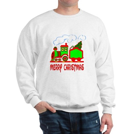 Christmas Train Sweatshirt