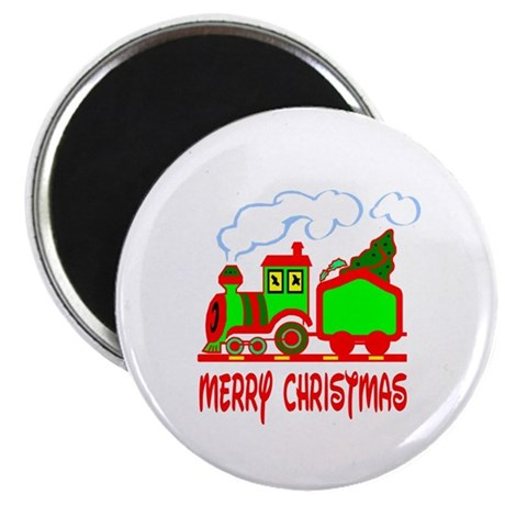 "Christmas Train 2.25"" Magnet (100 pack)"