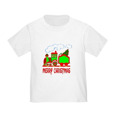 Christmas Train Toddler T-Shirt