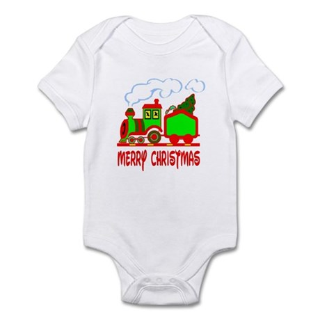 Christmas Train Infant Bodysuit