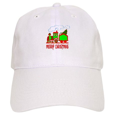 Christmas Train Cap
