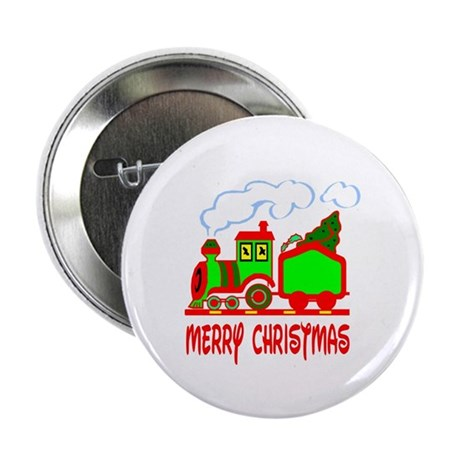 Christmas Train Button