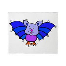 Baby Bat Throw Blanket