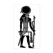 Ra-Horakhty Egyptian Diety Rectangle Decal