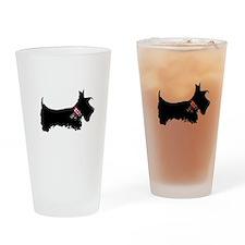 Scottie Dog Drinking Glass