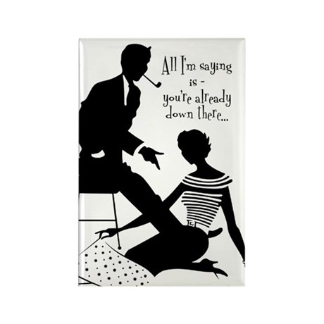 Oral Sex Talk Rectangle Magnet (100 pack)