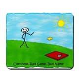 Cornhole Rad Game Bad Name Mousepad
