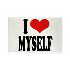 I Love Myself Rectangle Magnet