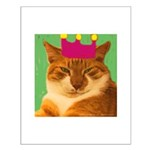 King Creola Orange Cat Small Poster