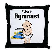 Future Gymnast P Bars Nursery Pillow