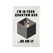 Quantum Cat Rectangle Magnet