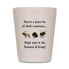 All God's Creatures Shot Glass