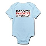 """Daddy's Favorite Invention"" Infant Bodysuit"