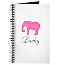 Personalizable Pink Elephant Journal
