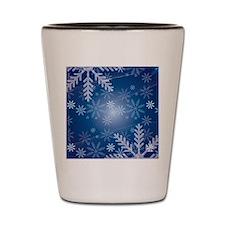 Midnight Snow Shot Glass