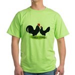 Black Dutch Pair Green T-Shirt