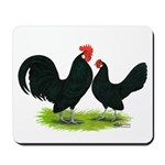 Black Dutch Pair Mousepad